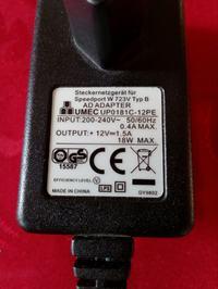 Podłączenie zasilacza AC 12V do panelu kabiny prysznicowej