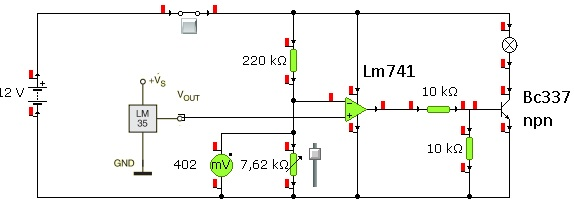 Termostat lm 35 do przetwornicy sg3524