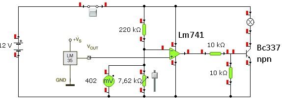 Termostat lm 35 do przetwornicy sg3524