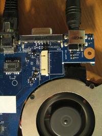 Samsung r540 - Uszkodzone gniazdo LCD