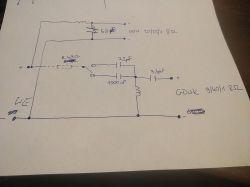 Podłączenie zwrotnicy Pathé-Marconi EA 282V(Tonsil ZG20C201)
