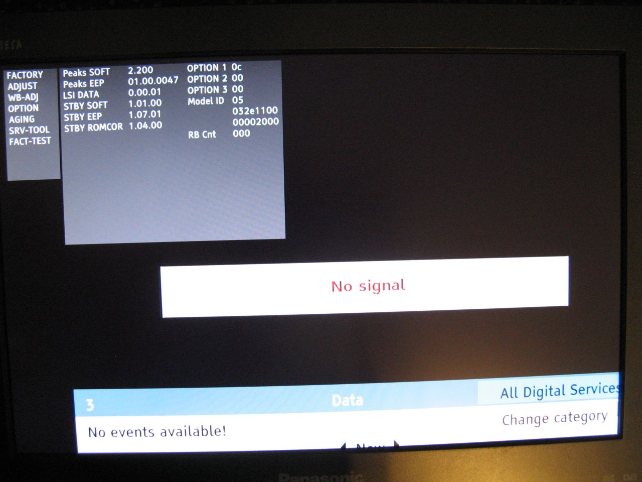 "TV LCD Panasonic Viera TX-19LXD8 19"""