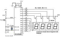 Multipleksowanie LED - kiepska jasność