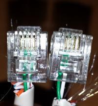 Prędkość internetu a przewód gniazko telefoniczne - funbox