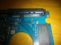 Seagate 500GB - Spalona dioda transil A-1