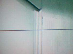 Samsung UE40F6400AW - Dziwny poziomy pasek na matrycy(czasem zanikający)
