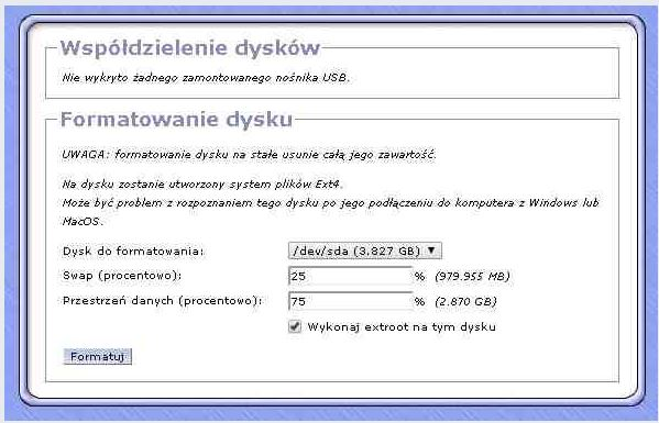TL MR3420 - Dysk zewn�trzny i router TL MR3420