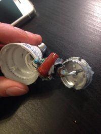 Oświetlenie LED - zasilanie: spuchnięte kondensatory