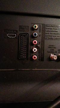 YAMAHA RX-450 - Podłączenie urządzeń do amplitunera - cinch