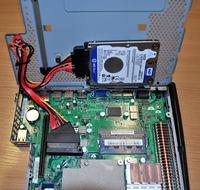 Jak zamontować twardy dysk w terminalu HP t5740