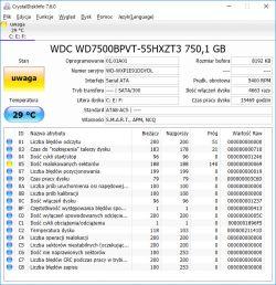 Diagnostyka dysku MHDD - MHDD nie widzi dysku w laptopie vaio vpceh3l1e