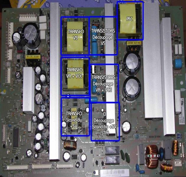 LG 50PS7000 - Schemat - naprawa zasilacza EAY59547701 1H488W