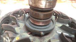Alternator Hitachi 100A - Wymiana pierścienia ślizgowego.