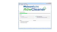 AdwCleaner-wyszukuje ale nie czyści.