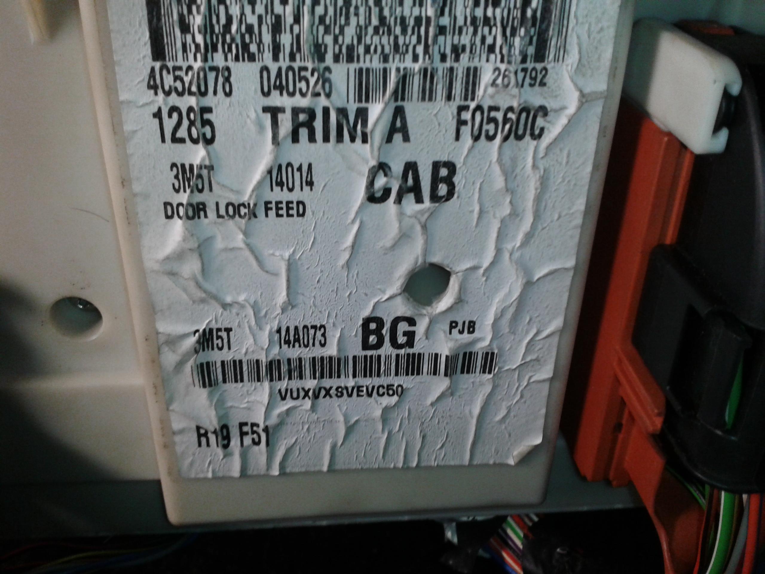 Ford C-Max Mk2 - nie dzialajace przednie wycieraczki