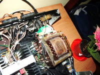 Płytki sterujące do wzmacniacza Unitra WS-503