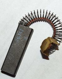 Odkurzacz Zelmer Cobra 2000 - uszkodzenie komutatora.
