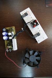 Zasilacz 12V / 20A na tranzystorach mocy : by Marcinszyk