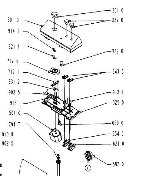 Pralka Whirlpool AWG 650 katalog części