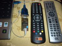 Zdalnie sterowany odbiornik Satelitarny DVR-7400 i Internet