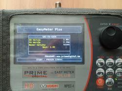 Miernik EASY METER PLUS combo DVB-S/S2, DVB-T, DVB-C ,