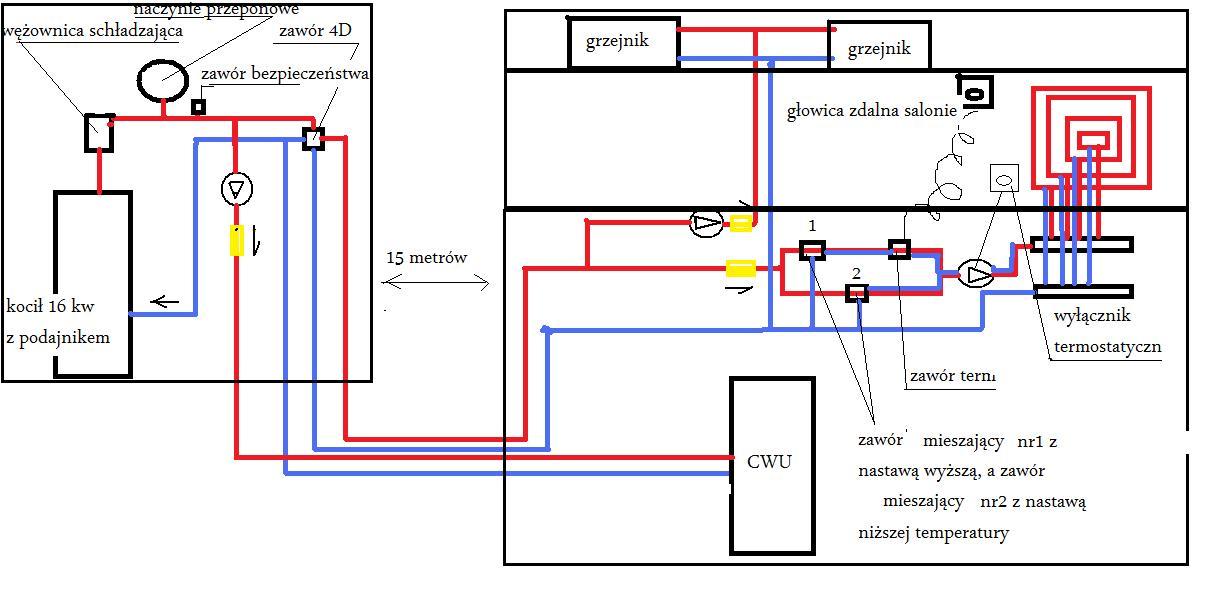 Schemat CO i CWU - do sprawdzenia