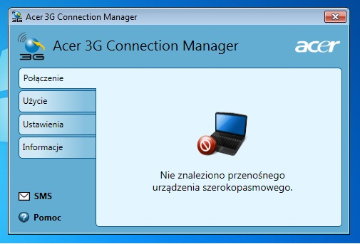 acer aspire one 3g connection manager