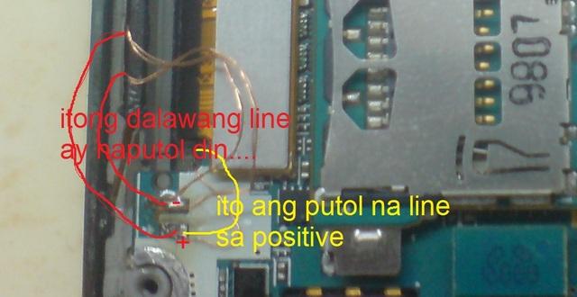 Samsung i9000 - Uszkodzony pin w��cznika