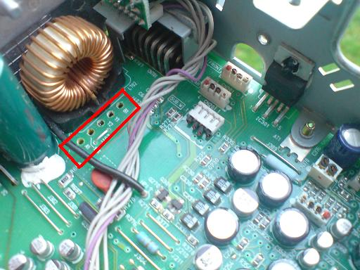 Panasonic DFX555 - nie prawid�owo wy�wietla i nie dzia�a ca�y panel