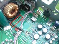 Panasonic DFX555 - nie prawidłowo wyświetla i nie działa cały panel