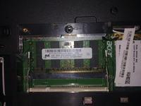 Acer Extensa 5620 - nie wykrywa drugiej ko�ci RAM