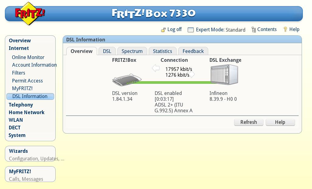 Fritz box 7330 sl brak po czenia z internetem 2 - 7330 sl ...