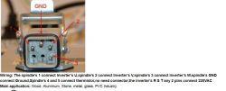 Wrzeciono z chin 3.5kW podłączenie