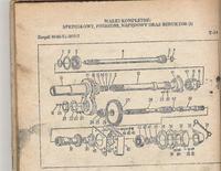 Ursus C-355 - Mechanizm za��czania pompy
