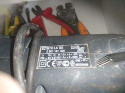 Wiertarka Bosch GSB 18-2RE - demontaż uchwytu wiertła
