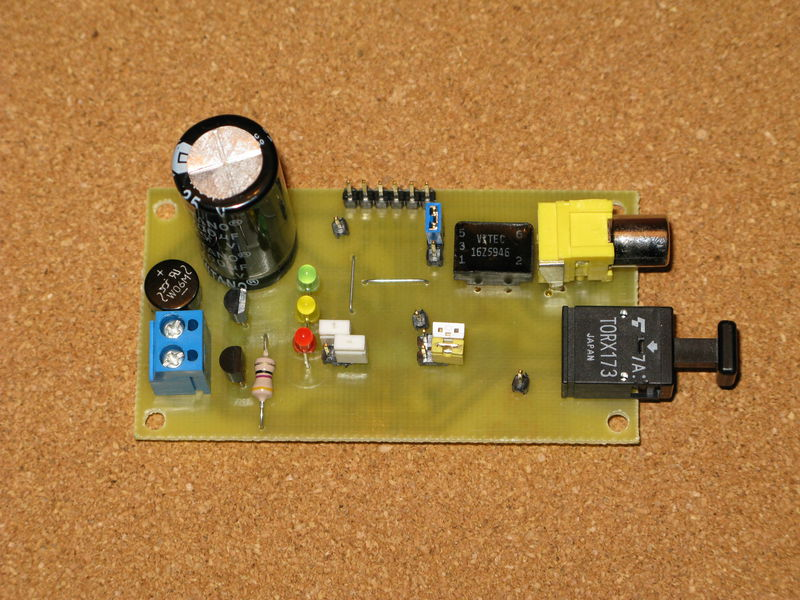 Dekoder S/PDIF na uk�adzie DIR9001