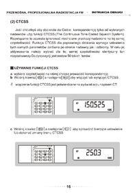 Navcomm TK-750 nieopisane funkcje, programowanie