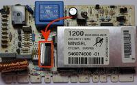 Sprawdzenie silnika w pralce Whirlpool AWG 876/D