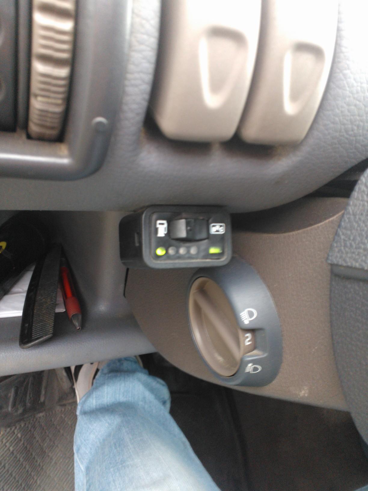 renault Twingo 1.2 - instalacja Elpigaz nie pokazuje prawid�owo poziomu gazu