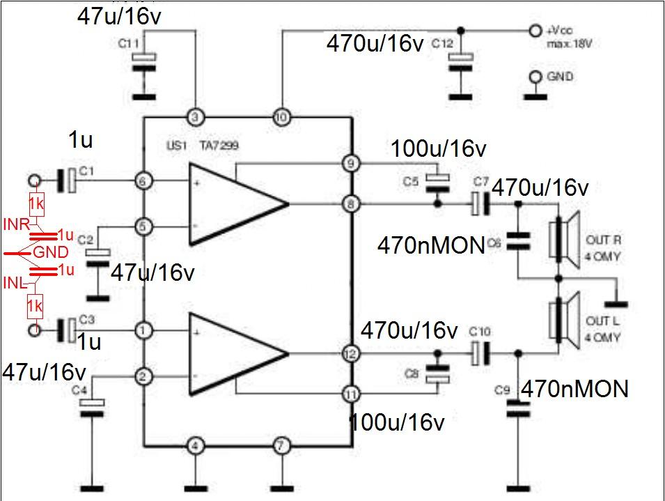 KIA7299P - Filtrowanie brumu z komputera