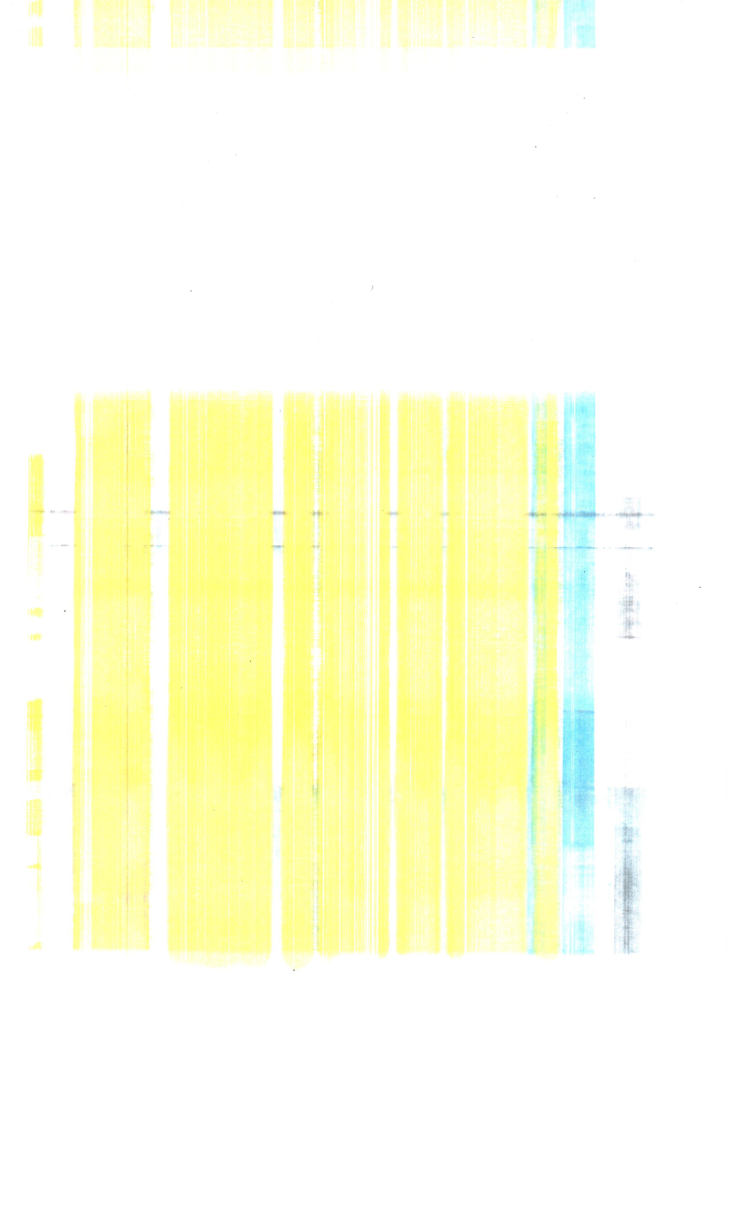 Minolta Magicolor 4695MF - Kartki pobrudzone na ��to i niebiesko; brzydki druk