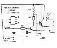 Czym zastąpić układ sterowniczy w lampce solarnej