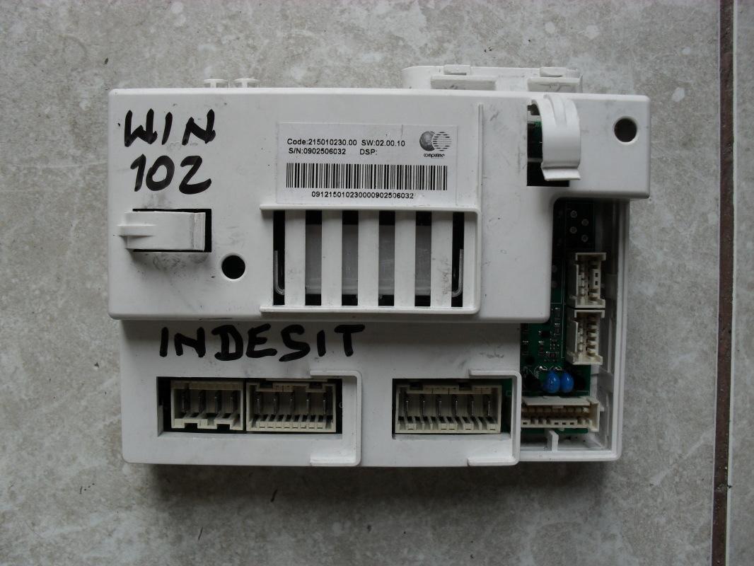 [Sprzedam] Programator i silnik do pralki Indesit WIN 102