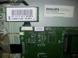 Philips 40pfl5007k/12 - Klepsydra, logo a dalej ciemny ekran.