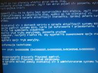 Niebieskie ekrany w laptopie Lenovo Thinkpad R61i