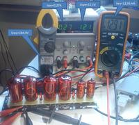 Kolejny zegar nixie z rodziny ElectroNIX clock 4x Z566m + 2x Z573m