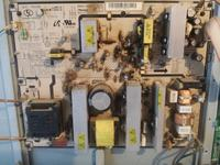 SAMSUNG LE40M87BD-brak obrazu, cykanie przkekaźnika.
