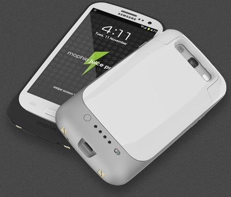 Mophie juice pack - dodatkowa pokrywa z bateri� dla Samsung Galaxy S III