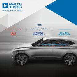 Analog Devices współpracuje z Hyundaiem w celu aktywnej redukcji poziomu szumu