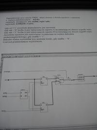 Nie działający sumator dwóch rejestrów 4 bitowych